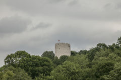 Kazimierz Dolny, Poland - fortified tower. This image shows a view of Kazimierz Dolny, a small town in Poland, Europe. It was taken in June 2017 on a beautiful Royalty Free Stock Images