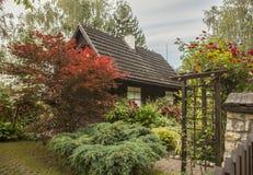 Kazimierz Dolny, Poland - an old house/the garden. Royalty Free Stock Image