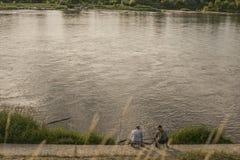 Kazimierz Dolny, Poland - by the river Vistula. Stock Images