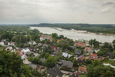 Kazimierz Dolny, Poland - Vistula. This image shows a view of Kazimierz Dolny, a small town in Poland, Europe. It was taken in June 2017 on a beautiful sunny Royalty Free Stock Images