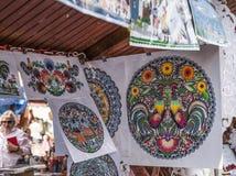 Kazimierz Dolny, Polen - Straßenmarkt/Ausschnitte von Krakau stockfotos