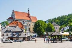 Kazimierz Dolny, Polonia Fotografia Stock Libera da Diritti