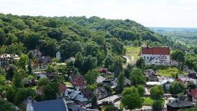 Kazimierz Dolny landscape royalty free stock photography