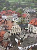Kazimierz Dolny sobre o Vistula Fotografia de Stock