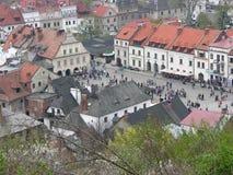 Kazimierz Dolny sobre o Vistula Imagens de Stock Royalty Free