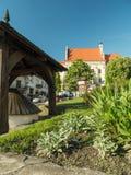 Kazimierz Dolny-stadsvierkant Royalty-vrije Stock Foto's