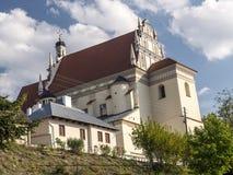 Kazimierz Farny kościół Fara Obraz Royalty Free