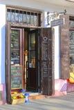 Kazimierz, former jewish quarter of Krakow. The Via Cafe, Krakow Royalty Free Stock Photo