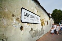 Kazimierz, historical district of Krakow Stock Photography