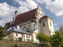 Kazimierz Parish Church Fara Imagem de Stock Royalty Free
