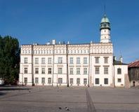 Kazimierz Town Hall anziano, Cracovia, Polonia Immagine Stock Libera da Diritti