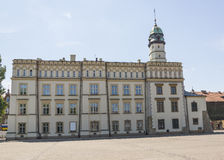 Kazimierz Town Hall. The 15th-century Town Hall amid Kazimierzs Plac Wolnica central square Stock Photography