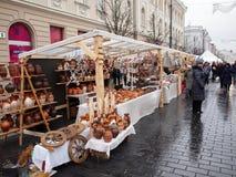 Kaziuko angemessen am 8. März 2014 in Vilnius Lizenzfreie Stockfotografie