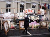 Kaziuko angemessen am 8. März 2014 in Vilnius Stockbilder