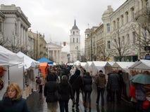 Kaziuko angemessen am 8. März 2014 in Vilnius Lizenzfreies Stockbild