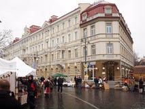 Kaziuko angemessen am 8. März 2014 in Vilnius Stockfoto