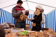 Kaziuko fair. VILNIUS, LITHUANIA - MARCH 7: Annual traditional crafts fair - Kaziuko fair on Mar 7, 2009 Royalty Free Stock Image