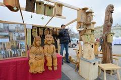 Kaziuko fair on Mar 7, 2014 in Vilnius Royalty Free Stock Image
