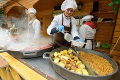 Kaziuko fair on Mar 7, 2014 in Vilnius Royalty Free Stock Photos