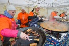 Kaziuko fair on Mar 7, 2014 in Vilnius Stock Photo