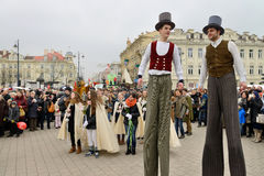 Kaziuko fair on Mar 8, 2014 in Vilnius Stock Photos