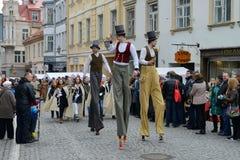 Kaziuko fair on Mar 8, 2014 in Vilnius Stock Photos