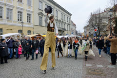 Kaziuko fair on Mar 8, 2014 in Vilnius Royalty Free Stock Photos