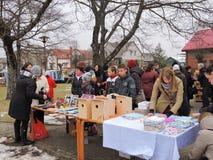 Kaziuko fair in Sveksna, Lithuania Stock Photo