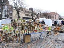 Kaziuko Fair in Theater Square in Klaipeda Royalty Free Stock Photo