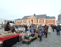 Kaziuko Fair in Theater Square in Klaipeda Royalty Free Stock Image