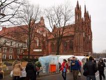 Kaziuko juste le 8 mars 2014 à Vilnius Image stock