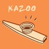 kazoo ilustracja wektor