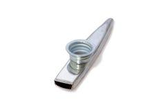 Kazoo do metal Fotos de Stock Royalty Free