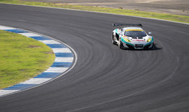 Kazuho Takahashi of i-mobile-AAS in GT300 Quaiflying at 2014 AUT Stock Photos