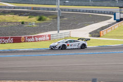 Kazuki Hiramine of JLOC in Super GT Final Race 66 Laps at 2015 A Royalty Free Stock Photo