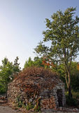 Kazun - klein steenhuis royalty-vrije stock foto's