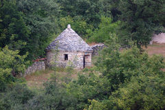 Kazun - small stone house Stock Images