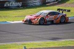 Kazuya Oshima της ΟΜΆΔΑΣ Le Mans ENEOS LEXUS στο ασβέστιο GT500 Qualiflying Στοκ Φωτογραφίες