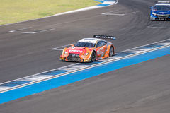 Kazuya Oshima of LEXUS TEAM LeMans ENEOS in Super GT Final Race Royalty Free Stock Photos