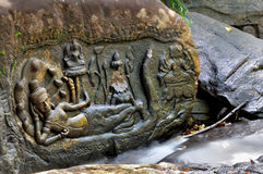 Kbal Spean dans Angkor Vat Photos stock