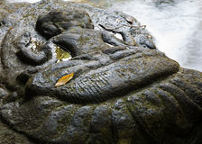 Kbal Spean river carvings Stock Image