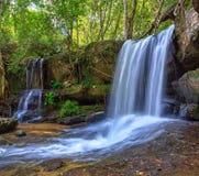 Kbal Spean waterfall - Siem Reap - Cambodia Royalty Free Stock Photography