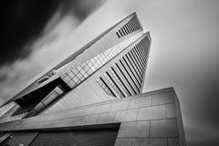 Kbc torn i ghent Belgien Arkivbild