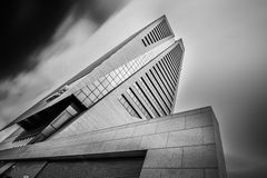 Kbc tower in ghent Belgium Stock Photography