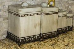 Küchen-Kanister Lizenzfreie Stockfotografie