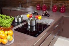 Kücheninnenraum Stockbilder