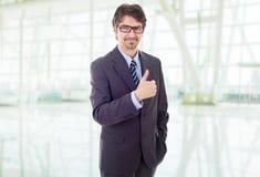 kciuk biznesmena kciuk fotografia stock