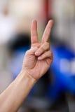 kciuk gestu, Fotografia Stock
