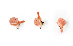 kciuki Zdjęcie Stock