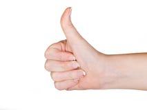kciuki w górę Fotografia Stock